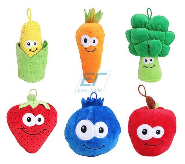 Plüsch Früchte und Gemüse ca.15cm