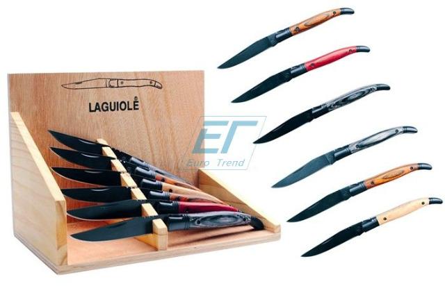Laguiole Taschenmesser Black blade Biaudos