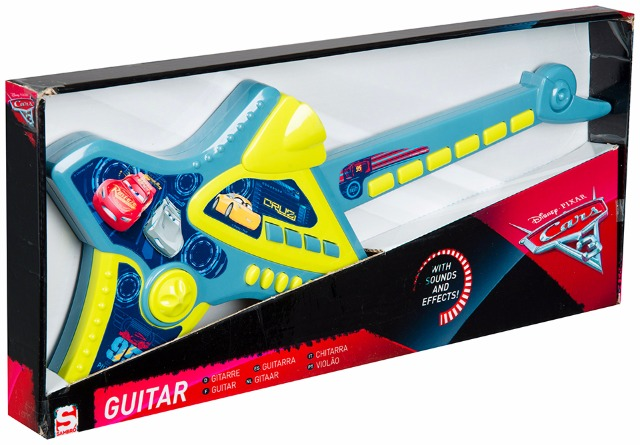 Gitarre mit Soundeffekten Disney Cars 3
