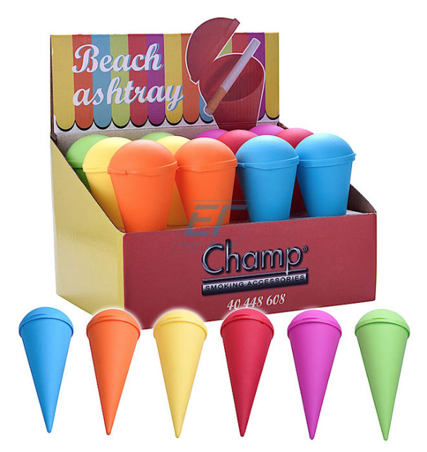 Beach Aschenbecher Colors Champ