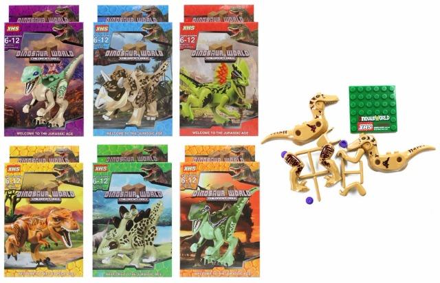 06-8206, Bausteine Jurassic Age, Bausatz Dinosauria, Bauset, Konstruktionsset