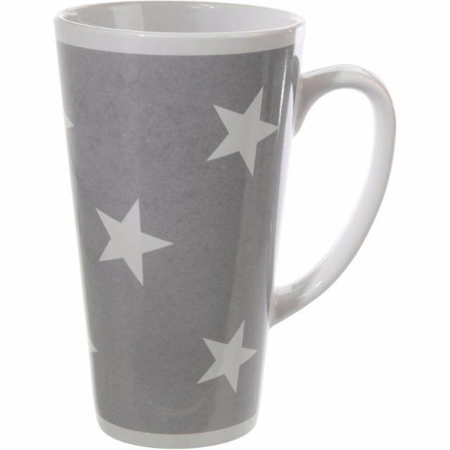 28-558342, Kaffeebecher XXL Small Stars*, 15 cm, Kaffeetasse, Kaffeepott