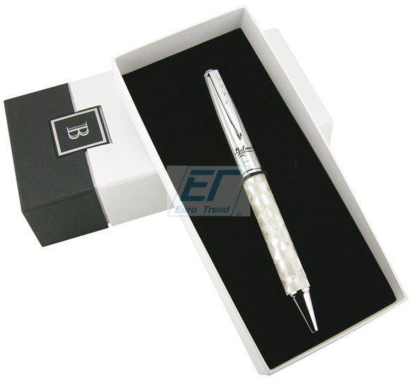 Balmain Kugelschreiber WHITE MOZAIC