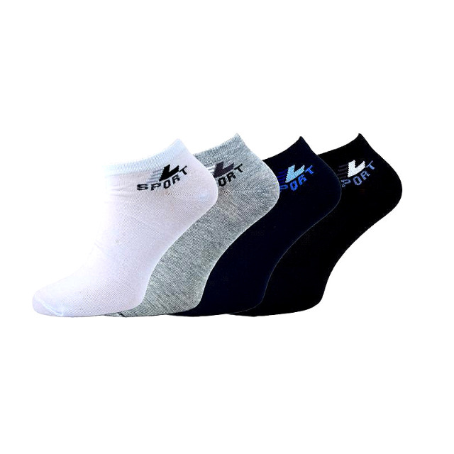 Herren Sneakersocken Baumwolle Gr. 40-46 für 0,29 EUR