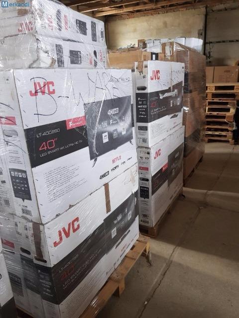 JVC 4K SMART ULTRA HD, LED FERHNSHEN