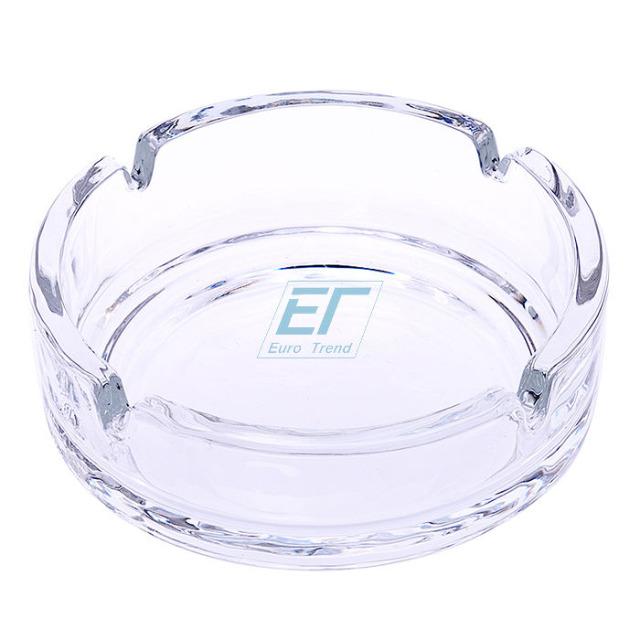 Aschenbecher Glas ca.10,5cm Champ