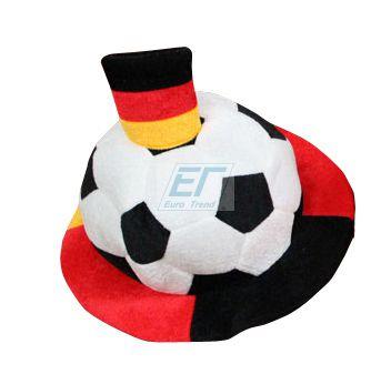 Deutschland Fan Hut Ball Fahne