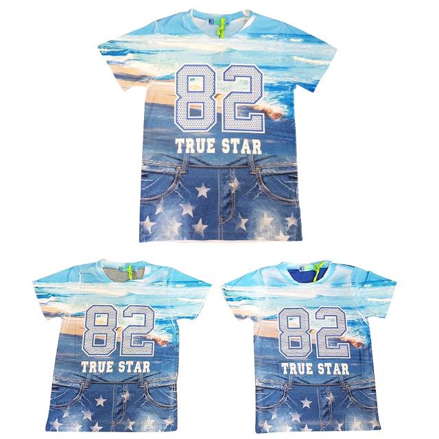 Kinder Jungen Frühling Sommer Freizeit Shirts Gr. 4-12 J. je 4,75 EUR