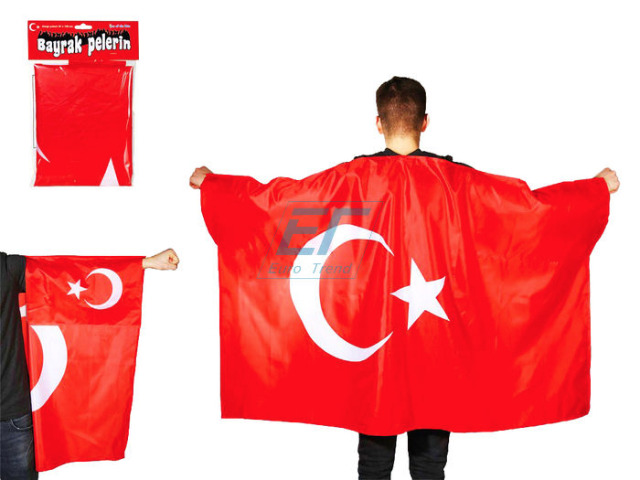 Türkei Umhangfahne 150 x 90cm