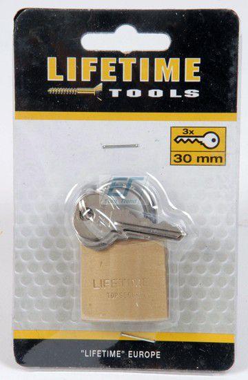 Vorhängeschloss 30mm lifetime tools
