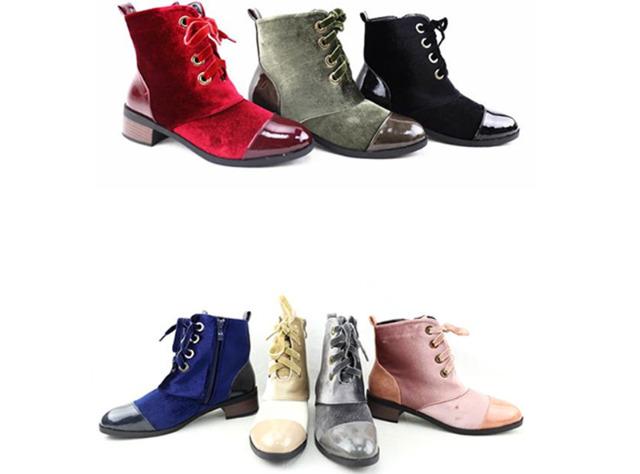 Damen Stiefel Outdoor Boots Schuhe Shoes Stiefeletten - 15,90 Euro