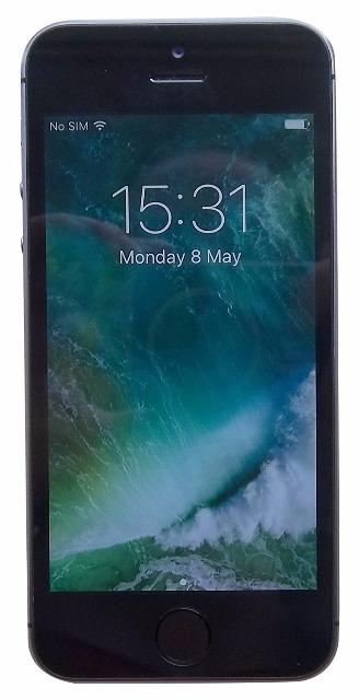 Apple iPhone 5S Smartphone (10,2 cm (4 Zoll) Display, 16GB Speicher, iOS) grau