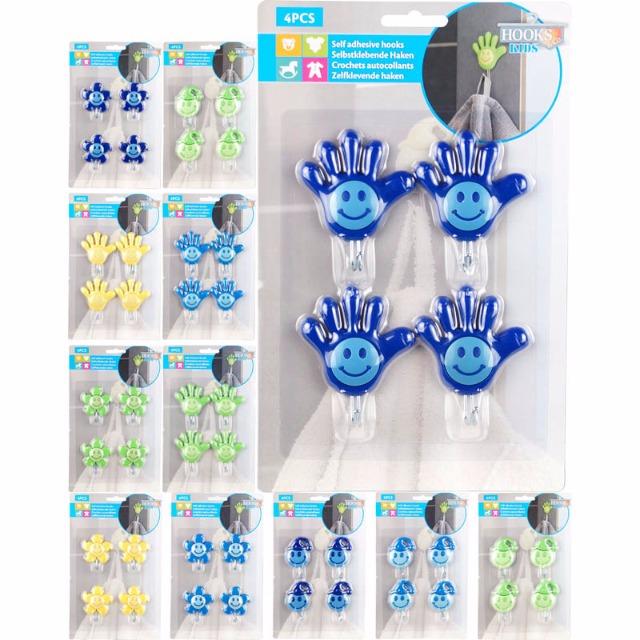 28-004488, Handtuchhaken 4er Set, selbstklebend