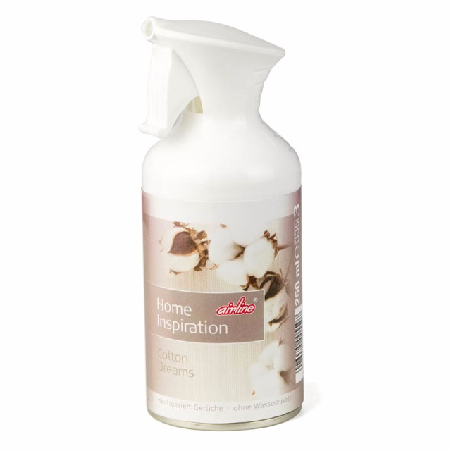 28-005507, Duftspray Cotton, Home Inspiration 250 ml, Duft Cotton Dreams