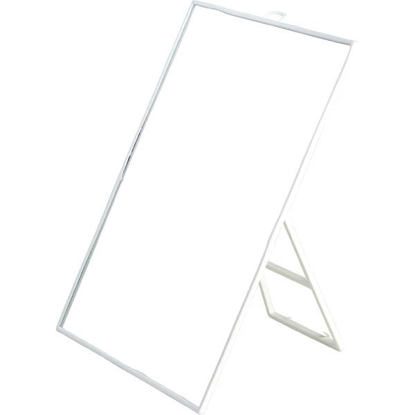 28-014597, Spiegel 22,5 x 29 cm, mit Aufsteller und Haken