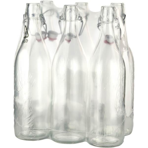 28 041842 Glasflasche Bugelverschluss 1 Liter Vielseitig