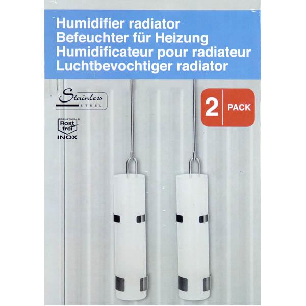 28-863801, Luftbefeuchter Edelstahl, 2er Pack,