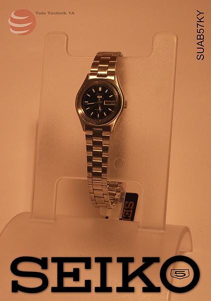 ORIGINAL SEIKO Uhren Vintage - Seiko 5 Automatic --NEUWARE--