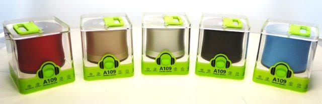 Bluetooth Mini Mobiler Lautsprecher Box mit Freisprechfunktion