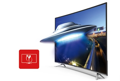 Changhong LED40D2200ST2 LED TV Full-HD Triple Tuner, DVB-T2/C/S/S2 H265 100 cm (39,5 Zoll)