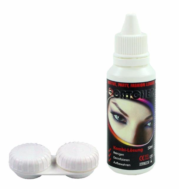 27-52552, Kontaktlinsenpflegemittel inklusiv Behälter