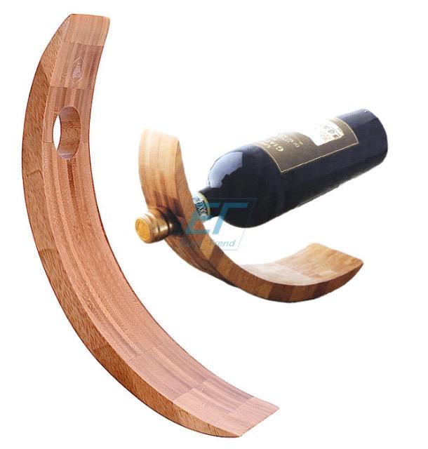 Laguiole Weinhalter aus Holz