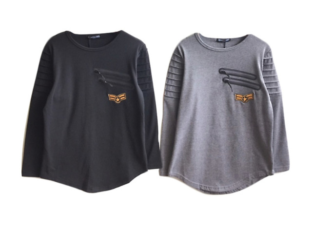 Kinder Jungen Sweatshirt Pullover Shirt Oberteil Langarm Kindershirt - 6,59 Euro