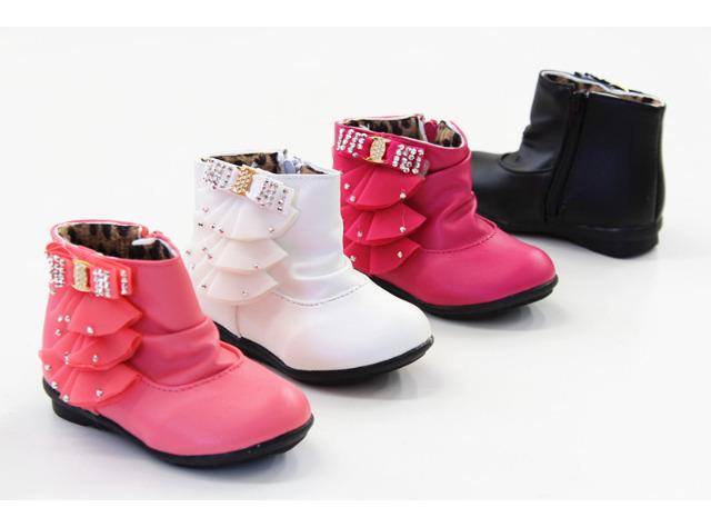 b1a6933666fd3d Kinder Mädchen Stiefel Fell Schuhe Mix Shoes Schuh Trend - 7