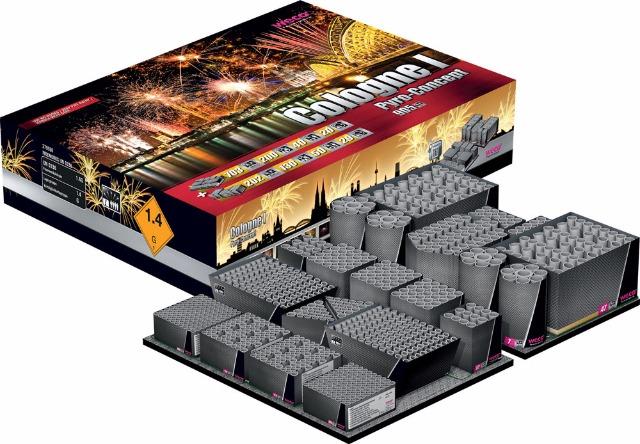 Pyro Tec Pro 10 - 905 Schuss Verbund / Cologne 1