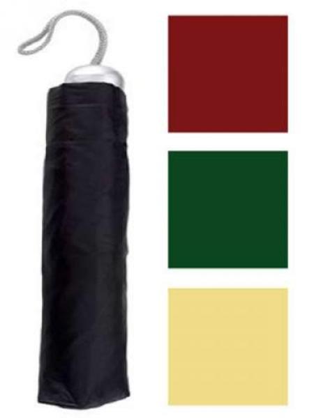 Taschen Regenschirm 4-farben sort.