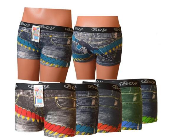 Kinder Jungen Boxershorts Boxer UOMO Shorts Unterwäsche Unterhose - 1,09 Euro