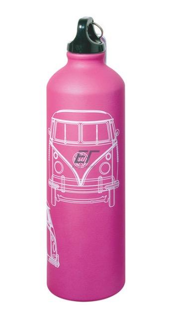 Volkswagen Alu Trinkflasche für ca.750ml Pink