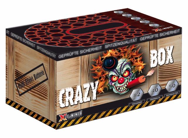 Crazybox Batteriefeuerwerk 82 Schuss