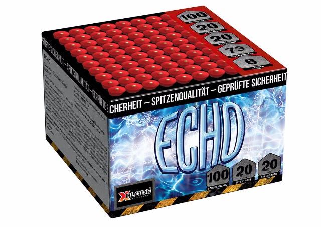 Echo Batteriefeuerwerk 100 Schuss