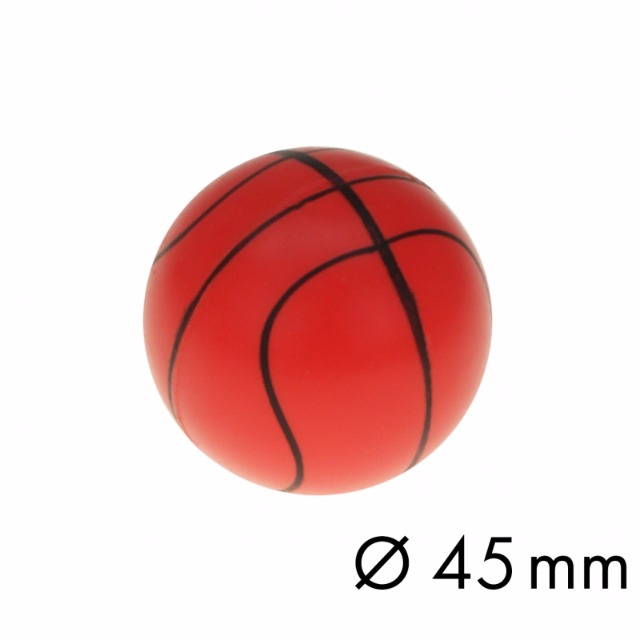 10-542280, Flummi 45 mm, Basketball, Springball, Flummiball