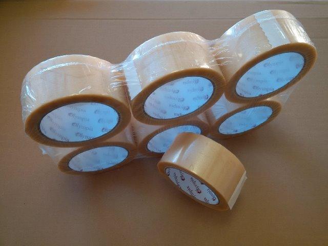 Olympia Tape PVC 52 NK NN transparent 50mm 66m zum Hammerpreis. Abverkauf wegen Logo Änderung