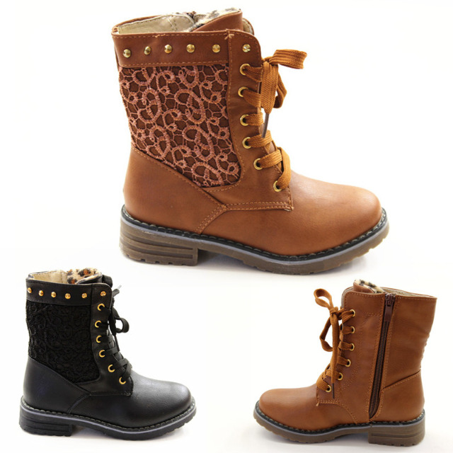 Mädchen Herbst Winter Stiefel Schuhe