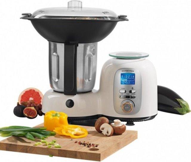 Discounter Restposten Thermo Multikocher Deluxe Kuchenmaschine