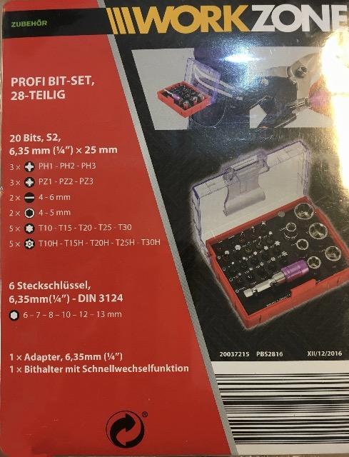PROFI BIT-SET 32 TEILIG