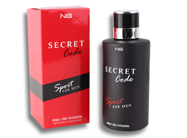 Parfüm Eau de Toilette Herren Secret Code Men Spray Duft Parfum 100 ml - 3,49 Euro