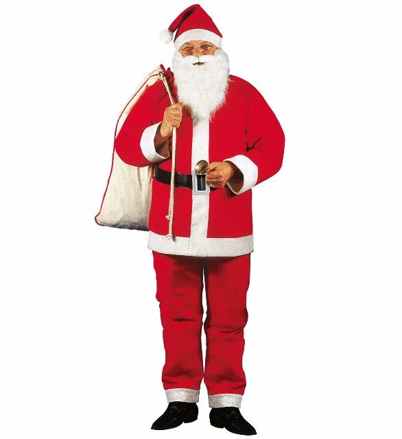 Weihnachtsmannkostüm Set 5 tlg hochwertige Markenqualität