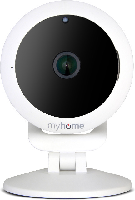 ODYS myhome CAM 360 Fischauge Überwachungskamera Sicherheitskamera Kamera Überwachung Sicherheit Einbrecher Schutz Babyfon Babyphone App WLAN Smartphone
