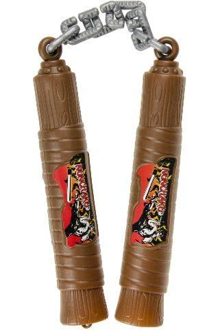 21-2358, Ninja Nunchaka Waffe 50 cm, auch ideal als Kostüm, Karneval, Fasching, Party, Event, usw