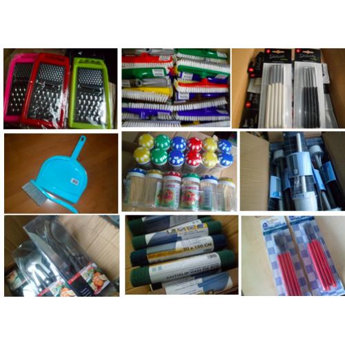 1A Haushaltsartikel Elektro Kaufhauswaren 12 Paletten 20Fuß Container
