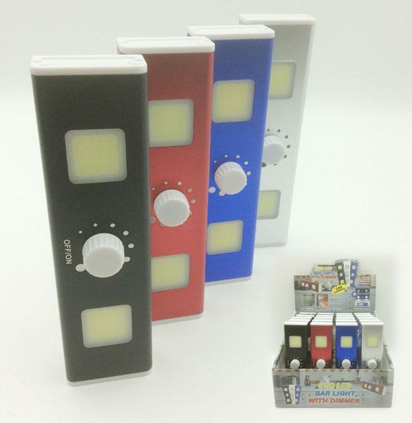 COB LED Lichtschalter 200LM mit Dimmer und Magnet im 20er Display