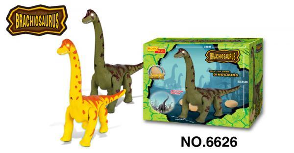 Dinosaurier mit Sound- und Gehfunktion Brachiosaurus ca. 32 cm