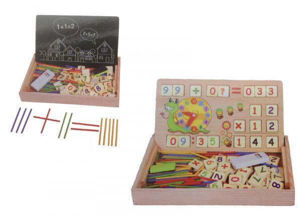 Holz-Digital-Lernbox mit Multifunktionen