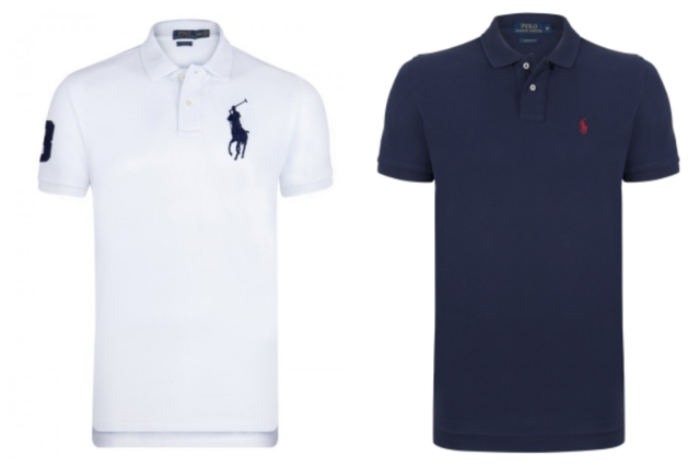 Liquidationsposten! Ralph Lauren Polo Shirt Mix Small Pony / Big Pony