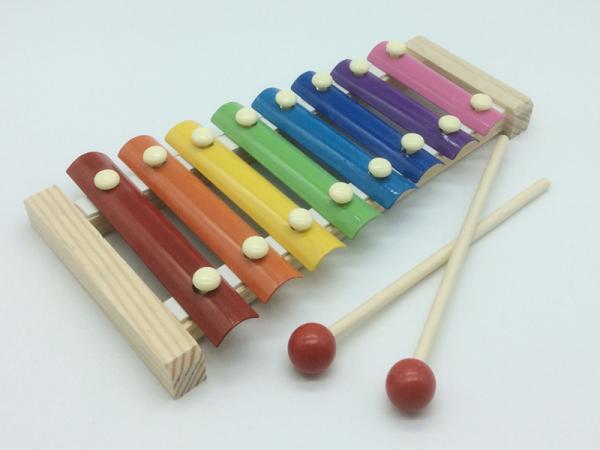 Spielzeug Holz Xylophon