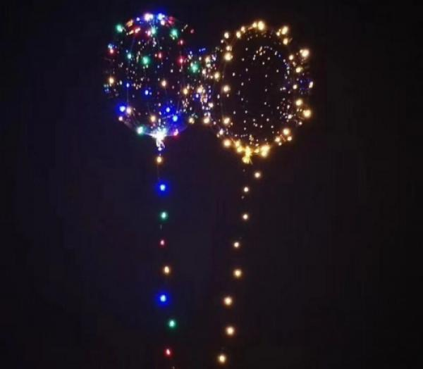 Transparente leuchtende LED Luftballons